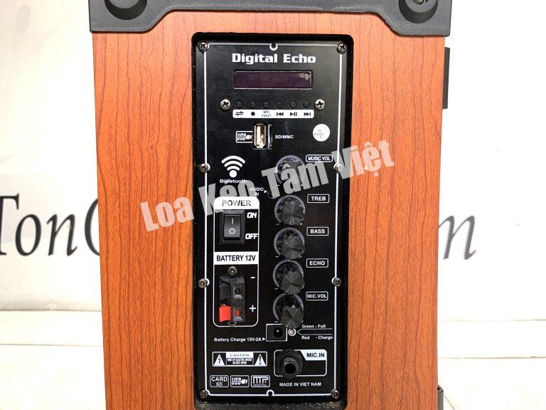 Bảng điều khiển loa kéo T'Sound T12