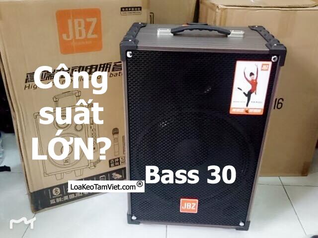 Loa kéo JBZ NE-109 karaoke di động bass 3 tấc