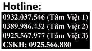Số điện thoại Loa kéo Tâm Việt